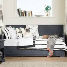 full size daybed with storage drawers wayfair