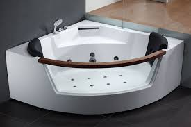 Clear Bathtub Eago Am197 5 U0027 Rounded Clear Modern Corner Whirlpool Bath Tub With