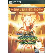 naruto shippuden naruto shippuden ultimate ninja storm revolution samurai edition
