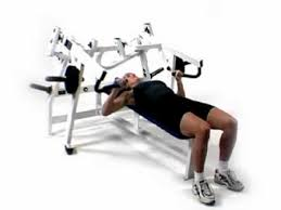 Chest Flat Bench Press Hammer Strength Iso Lateral Bench Press Youtube
