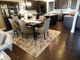 Wood Area Rug Rugs For Wood Floors Alluring Rug In Kitchen With Hardwood