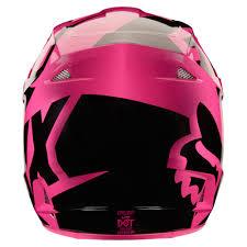 fox v1 motocross helmet 2018 fox racing v1 race helmet pink sixstar racing