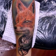 fourteen fancy fox tattoos artists