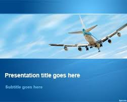 free aviation powerpoint template