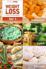 day 3 meal plan u2013 7 day weight loss challenge recipes
