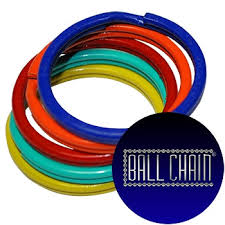 color key rings images 24mm color split key rings ball chain manufacturing jpg