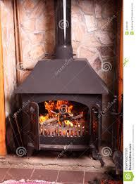 old fashioned wood burning stove stock photo image 35269790