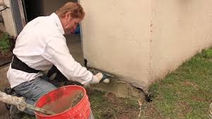 foundation repairs with stucco and or cement plaster youtube