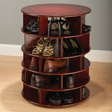 the 25 pair shoe turntower hammacher schlemmer