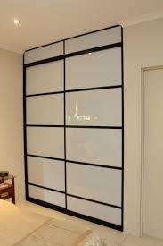 Bedroom Cupboard Doors 20 Best Black Sliding Doors Images On Pinterest Sliding Doors