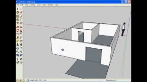 how to make a house in google sketchup youtube