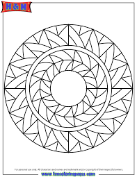 abstract art mandala coloring u0026 coloring pages