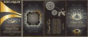 template undangan format cdr undangan pernikahan format cdr