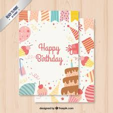 card birthday birthday card vector free
