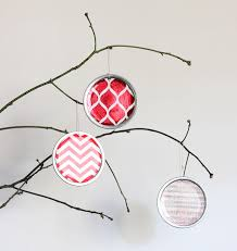 diy jar lid ornaments erin spain