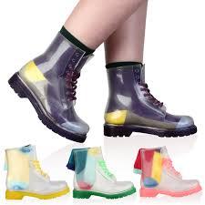 clear rain boots womens yu boots