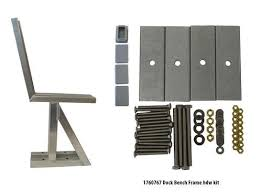 bench frame pair with hardware at menards