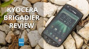kyocera brigadier review youtube