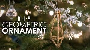 Anime Christmas Tree Ornaments Geometric Ornament Diy Thriftmas Day 9 Youtube