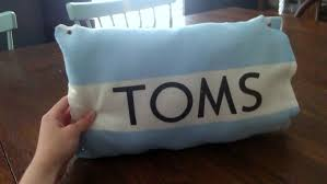 Flag Toms Toms Flag Pillow
