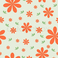 flower wrapping paper floral wallpaper with set of different flowers could be used as