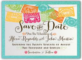 save the date birthday cards mexican paper flags save the date invitations di 5015sd