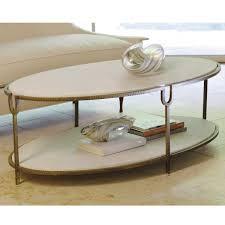white stone coffee table coffee urn long oval coffee table mid century modern narrow base
