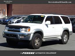 used 2001 toyota 4runner 2001 used toyota 4runner sr5 at mercedes of chantilly serving