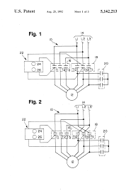 component wye delta motor magic pie starter patent us6340851