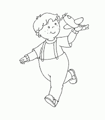 246 caillou images caillou coloring pages