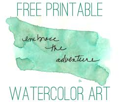 printable inspirational quotes to color free water color inspirational quotes art
