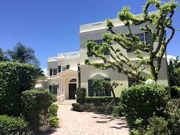 new construction luxury home underway in palm beach residential