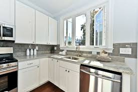 backsplash tile ideas for small kitchens tile backsplash ideas small kitchen with white cabinets and grey