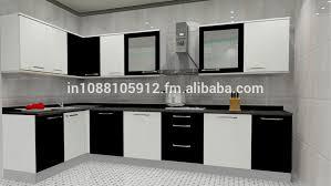 lovely inspiration ideas modular kitchen designs black and white 4