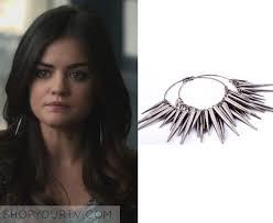 pretty liars earrings pretty liars season 2 episode 22 s spiked earrings