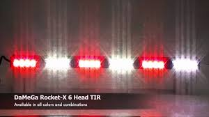 Damega Light Bar damega engineering rocket x 6 head tir youtube