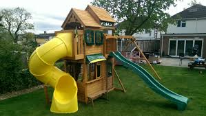 outdoors tremendous cedar summit playset for cool kids playground