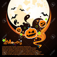 halloween background free clipart halloween card with pumpkin and ghost castle royalty free cliparts