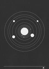solar system 3 print design solar system