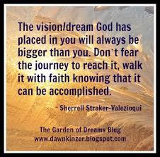 Faith Meme - the garden of dreams meme inspirational quote on having faith to