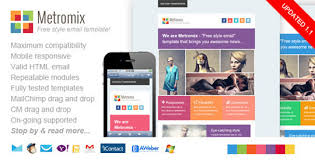 20 best flat style responsive email templates designbeep