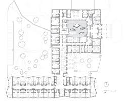 nursing home floor plan layout