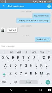 chat android mobile chat is live for ios and android users updates