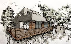 Home Design Of Architecture by Beautiful Sketch Home Design Ideas Awesome House Design