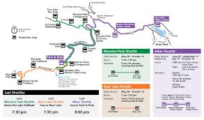 Bus Route Map Maps Rocky Mountain National Park U S National Park Service