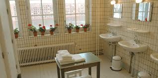 Unisex Bathroom Ideas by Shared Bathroom Rooms Lloyd Hotel U0026 Cultural Embassy Design Hotel