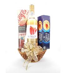 Flowers And Gift Baskets Delivery - send classic wine and cheese flowers gift baskets and bouquets