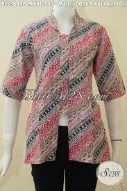 desain baju batik halus desain busana batik jawa etnik untuk wanita dewasa pakaian batik