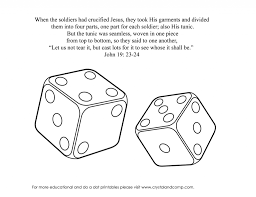 dice coloring pages eson me