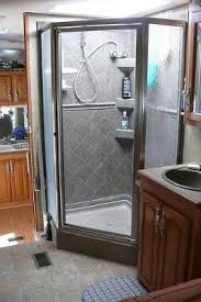 cleaning hard water from a glass shower door